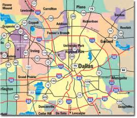 maps of dallas dallas map
