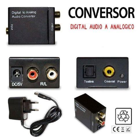 entrada optica tv conversor adaptador entrada optica y coaxial salida 2