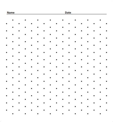 printable square dotted paper isometric dot paper 7 free download for pdf