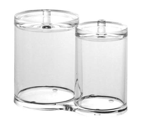 cotton ball jar bathroom cotton holder swab holder cotton ball jar q tip holder