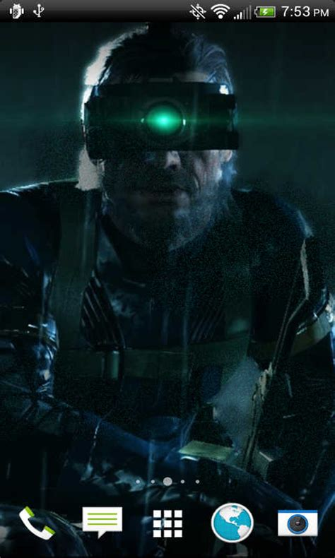 metal gear live wallpaper free metal gear solid snake livewallpaper apk for