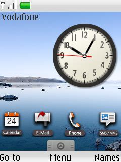 themes android clock download google android clock nokia s40 theme nokia theme