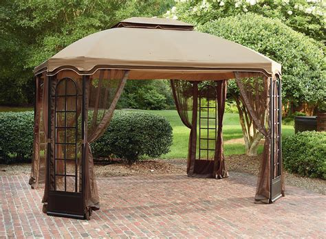 Steel Frame Gazebo 399 99 Essential Garden 12 X 10 Terrace Gazebo