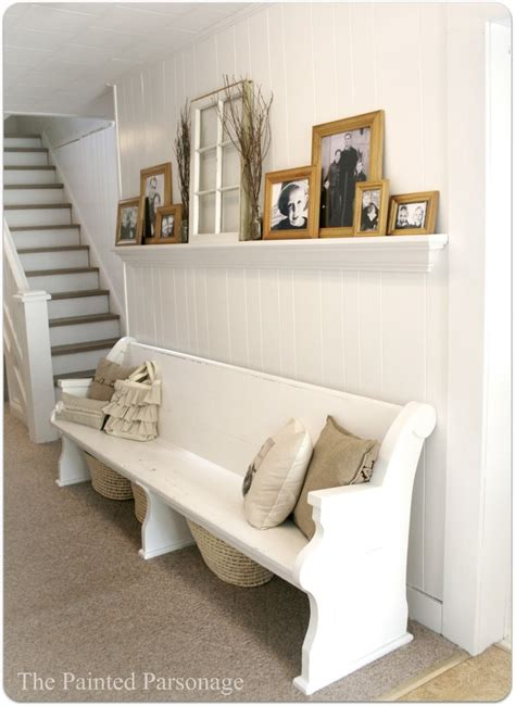 church pew home decor 17 best images about repurposed church pews on pinterest