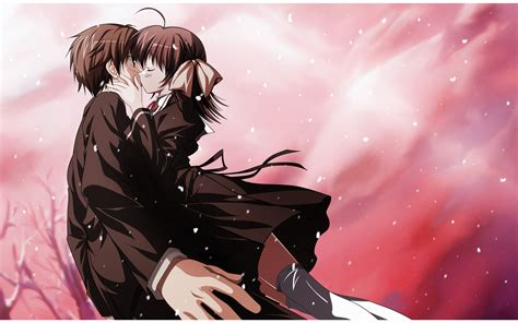 Anime Couple Love Pics Anime Kiss Of Love Wallpapers 2560x1600 559194
