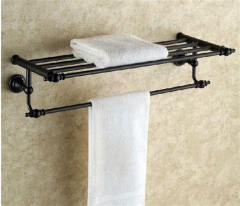 Bronze Towel Shelf by Bathroom Hotel Rubbed Bronze Shelf Towel