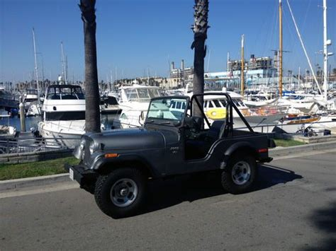 buy used 1975 used manual 4 speed v8 l82 t tops leather ps pb pw ac loaded in stuart find used 1975 jeep cj5 4x4 amc 304 v8 5 0l 3 speed vintage feel in los angeles