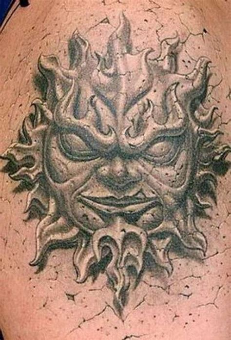 tattoo 3d stone amazing 3d tattoos art