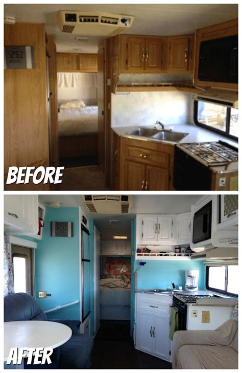 our 1st remodel class c motorhome rv remodel pottery rv renovations motorhome renovations rv obsession