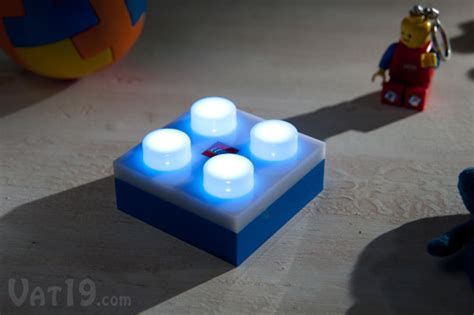 Lego Lights by Lego Portable Led Brick Light 4 Bright Leds With