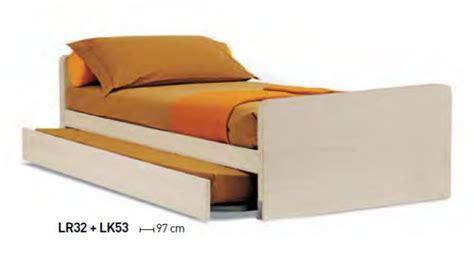 letti singoli con secondo letto letti con estraibile
