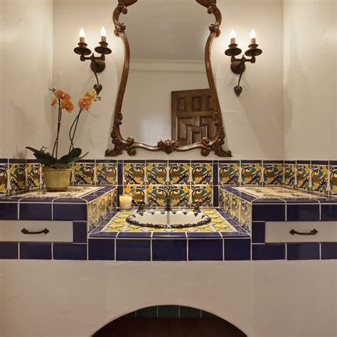 spanish tile bathroom ideas design a stunning spanish bathroom