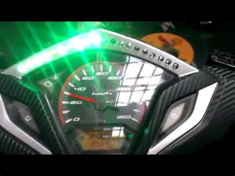 Lu Led New Vario 125 custom led tachometer vario 125 pgm fi