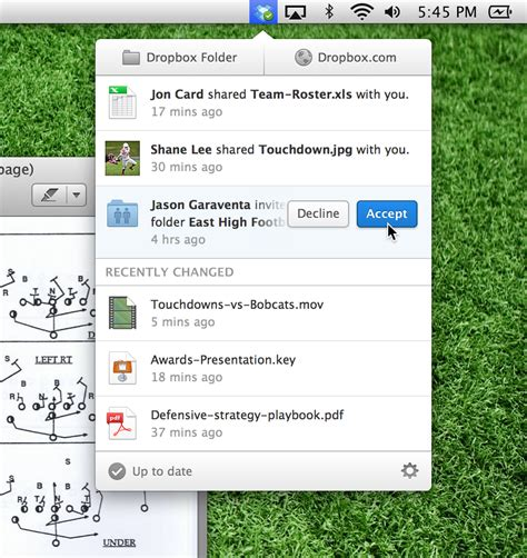 dropbox pc discover the new dropbox menu on your computer dropbox blog