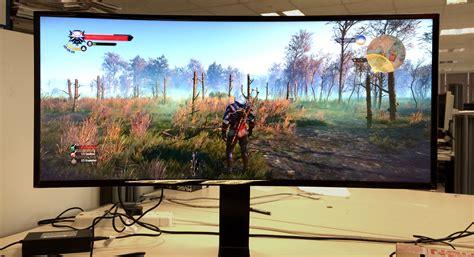 Monitor Gaming Curved Curved Monitors Gaming Rock Paper Shotgun