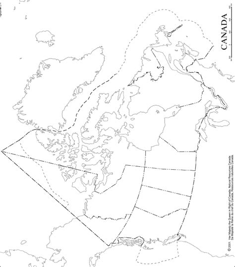 blank map of canada for canada outline map