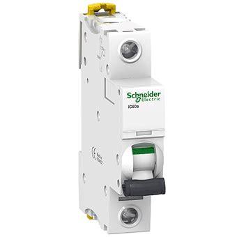 Mcb Mini Circuit Breaker 1p 25ere Schneider schneider acti 9 ic65n 1p 16a miniature circuit breaker elesum electric