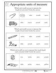 measurement worksheets grade 2 length google search