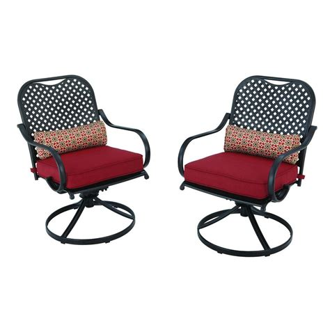 c motion patio chair hton bay fall river motion patio dining chair with