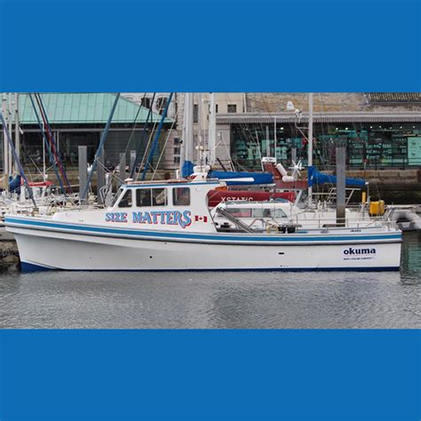 charter boat liverpool mckies fishing charters size matters charter boat