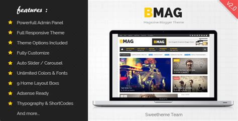 themeforest blogger bmag blogger template free download v2 0 2 themeforest