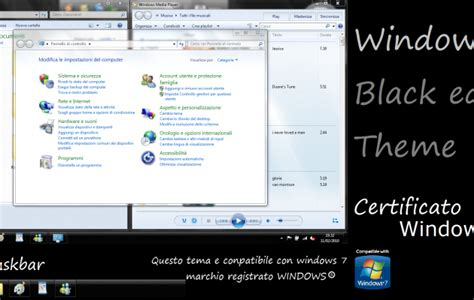 Themes For Windows 7 Black Edition | windows 7 black edition desktop themes