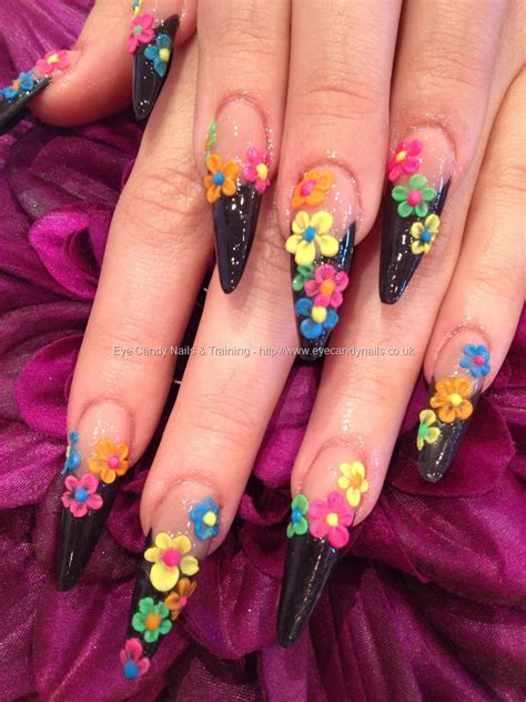 best 3d acrylic nail art design eye candy nails training nail art gallery