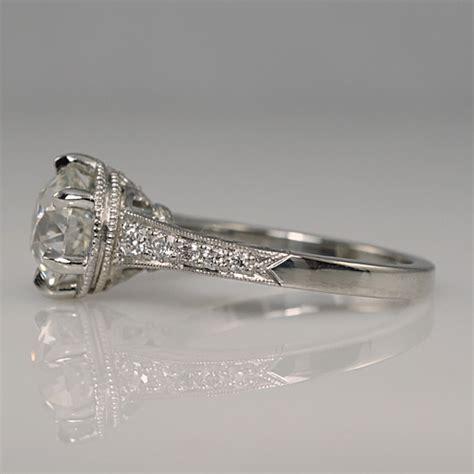 custom vintage engagement rings wedding and bridal