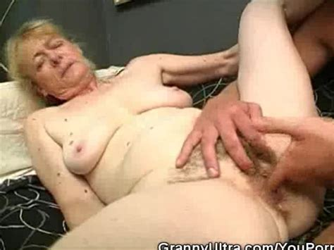Hairy Granny Cock Sucks And Gets Fucked Free Porn Videos