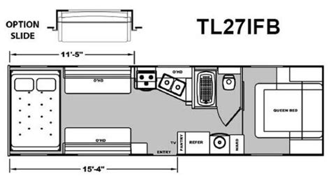 attitude toy hauler floor plans 2013 eclipse attitude 27ifbg travel trailer roy ut ray