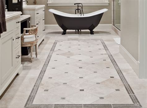 Classic Bathroom Floor Tile classic mosaic as vintage bathroom floor tile ideas
