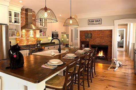 kitchen fireplace ideas kitchen makeover with remodeling fireplace ideas eva