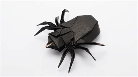 Simple Origami Spider - origami spider traditional jo nakashima