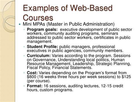 Rutgers Mini Mba Cost by E Learning Presentation Nov 2010