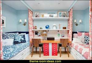 Bedroom Ideas For Small Rooms With Two Beds Decorating Theme Bedrooms Maries Manor Shared Bedrooms