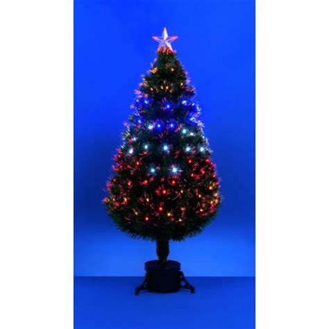 60cm fibre optic christmas tree