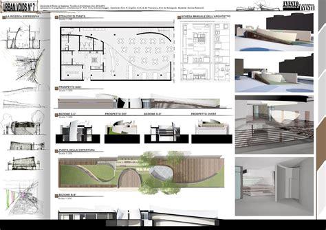tavole tesi architettura tavole concorso architettura piante idee per il design