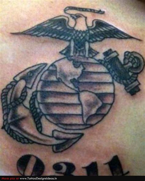 ega tattoo usmc moto ega 0311 grunt semperfi