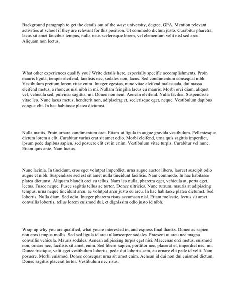 copy of cover letter for resume cover letter 187 cover letter copy cover letter and resume
