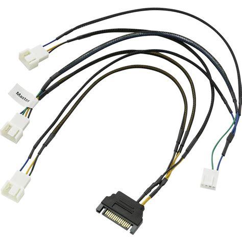 pc fan y adapter pc fan cable 2x pc fan 3 pin pc fan 4 pin 1x