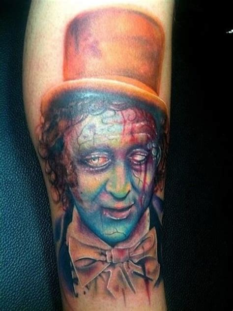 zombie tattoo on leg by graynd tattooimages biz illustrative style creepy looking leg tattoo of zombie