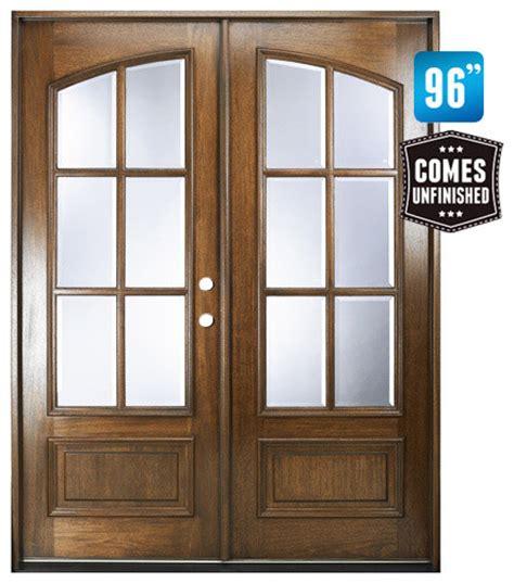 Marginal 6 Lite Double Door W Clear Beveled Glass Beveled Glass Doors Interior