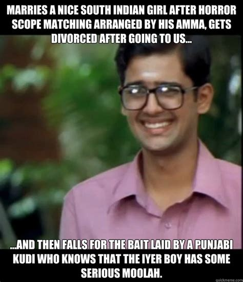 Nice Girl Meme - marries a nice south indian girl after horror scope