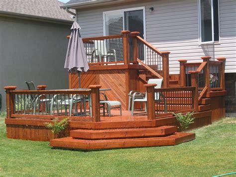 two tier deck designs lighting furniture design
