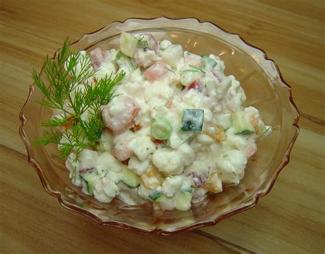 Salad Cottage Cheese by Summery Cottage Cheese Salad A Palatable Pastime