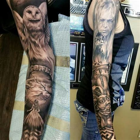 labyrinth tattoo amazing labyrinth sleeve so jelly tattoos