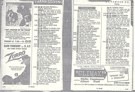 one day film tv guide classic tv guide listings pictures to pin on pinterest