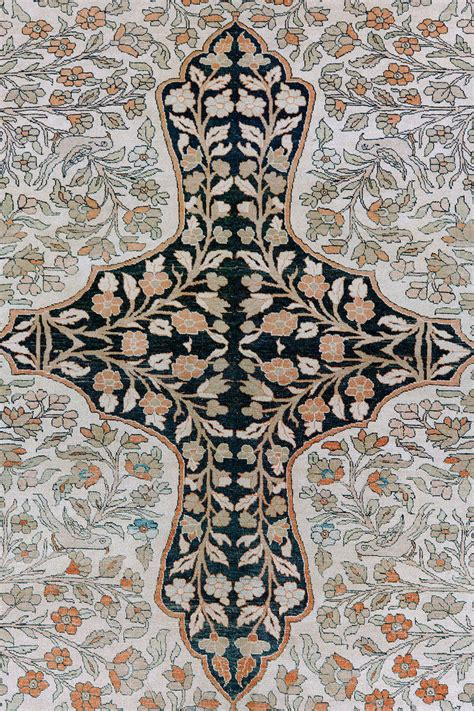 tree of rug pictorial antique tabriz tree of rug for sale at 1stdibs