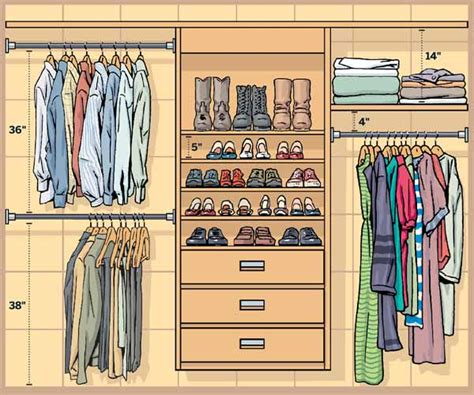 Depth Of Closet by Closet Rod Height Car Interior Design