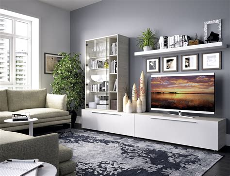 mueble comedor blanco  gris de  casaidecoracom